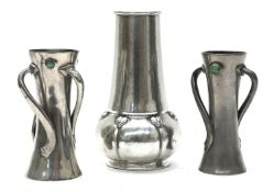 A Liberty & Co. Tudric pewter vase,
