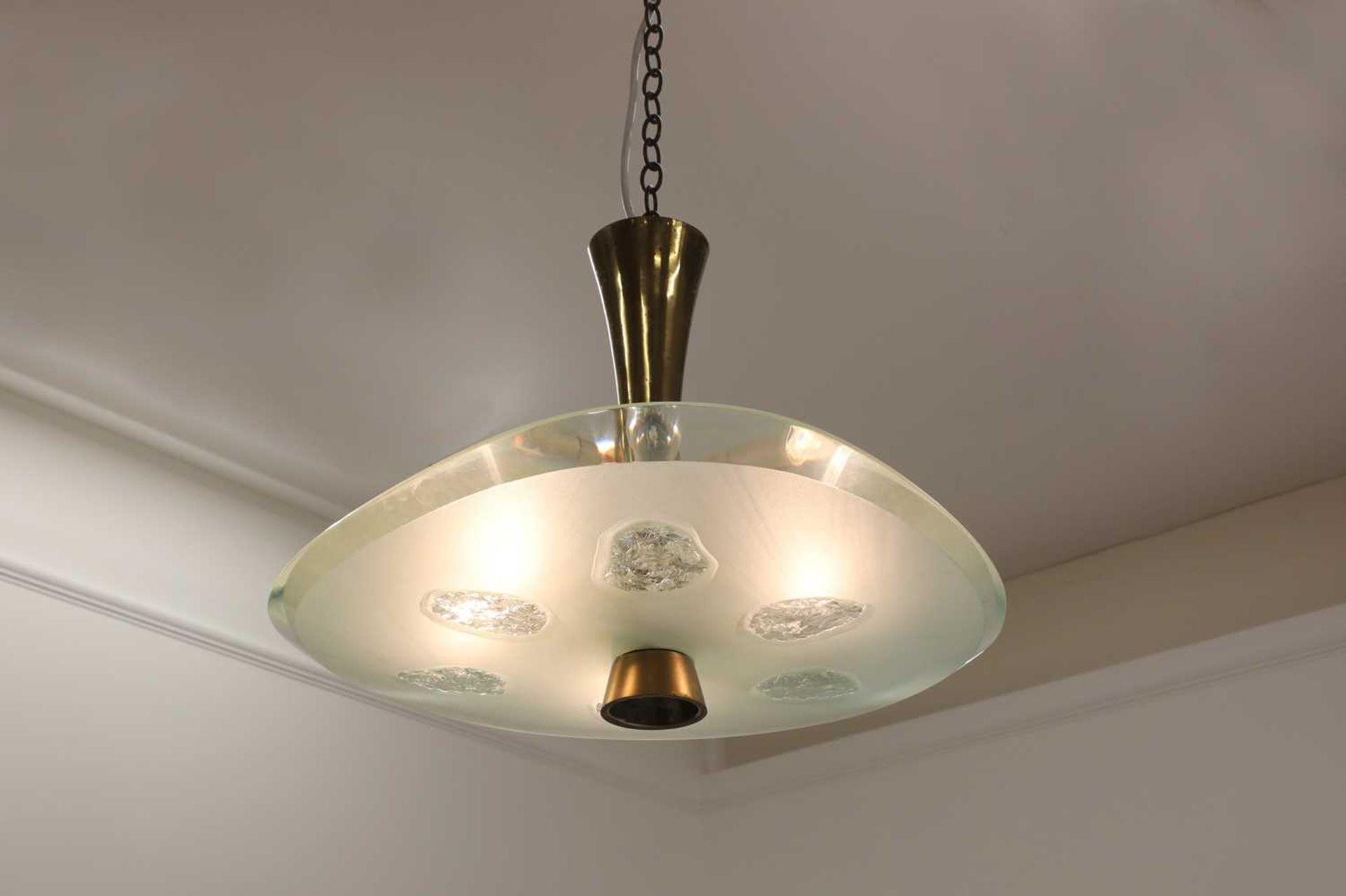 A Fontana Arte 'Model 1748' ceiling light, - Image 2 of 5