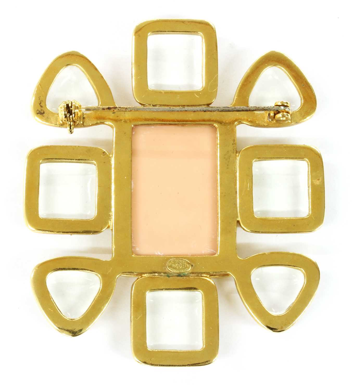 A Chanel gold-plated brooch, - Image 2 of 4