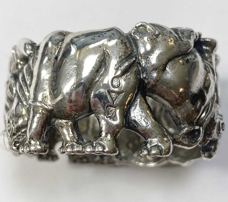 A set of six animal napkin rings, by Patrick Mavros, - Image 15 of 24