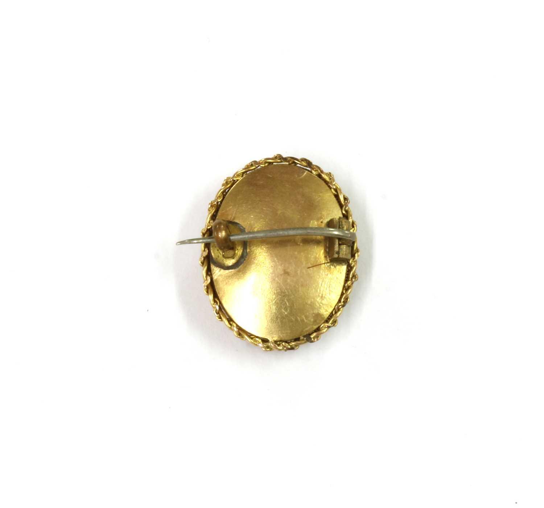 A gold mounted sardonyx cameo, - Image 2 of 2