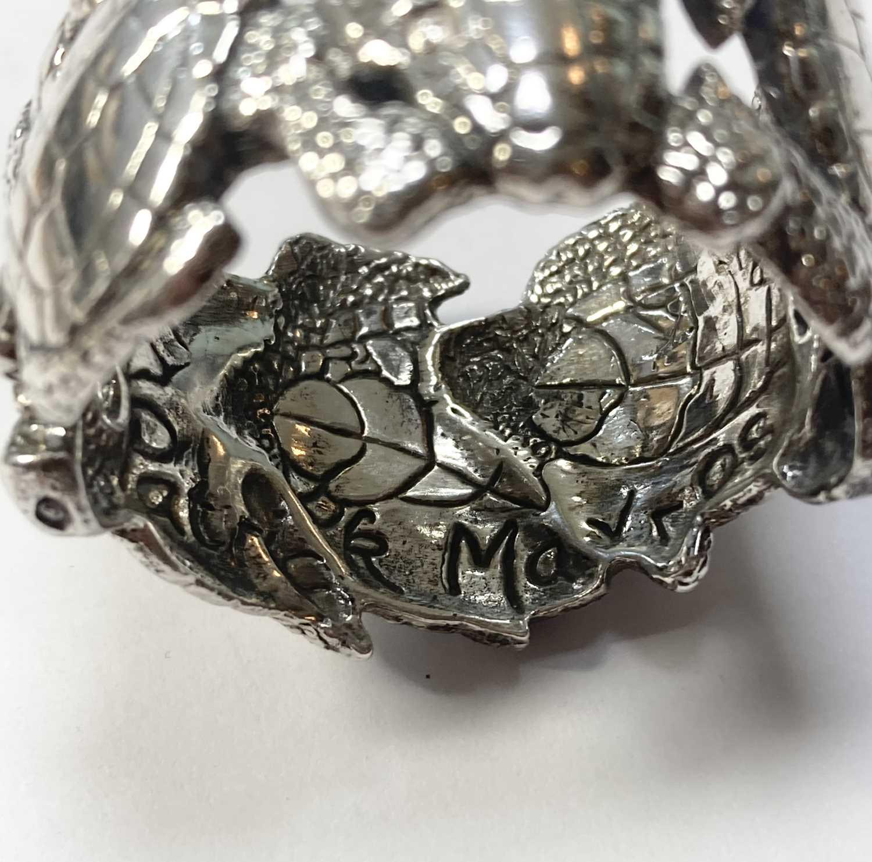 A set of six animal napkin rings, by Patrick Mavros, - Image 7 of 24