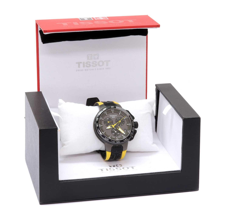 A gentlemen's stainless steel Tissot 'Le Tour de France' quartz chronograph strap watch, c.2017, - Image 2 of 2