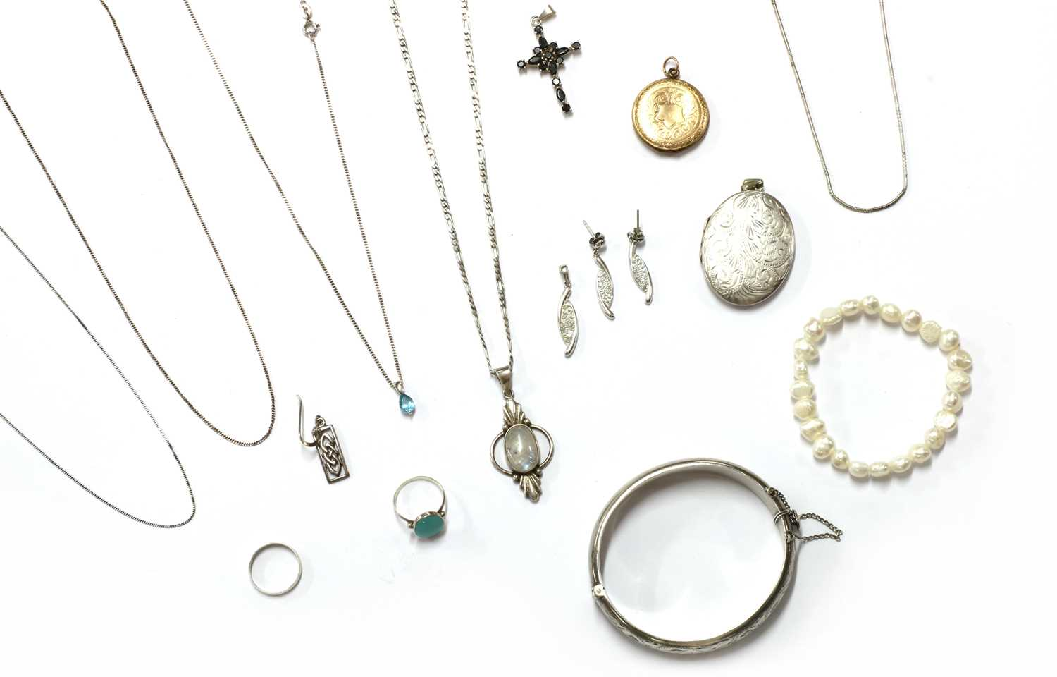 A quantity of jewellery, - Image 2 of 2