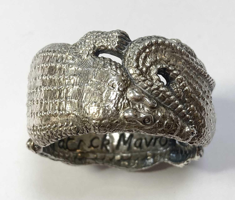 A set of six animal napkin rings, by Patrick Mavros, - Image 3 of 24