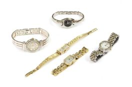 A quantity of ladies' watches,