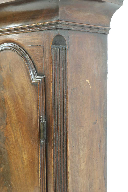 A George III mahogany longcase clock, - Image 9 of 13