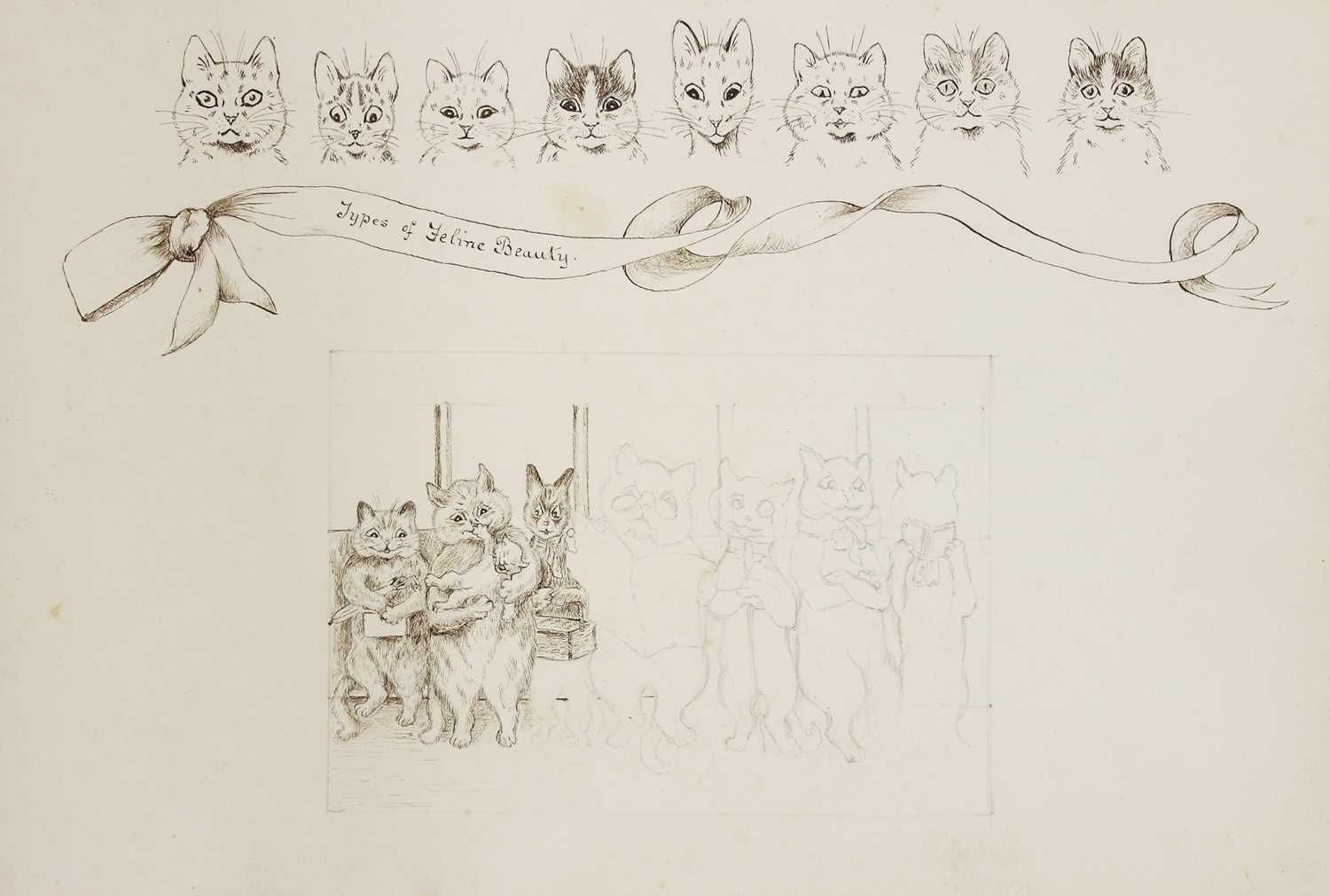 Attributed to Louis Wain (1860-1939)
