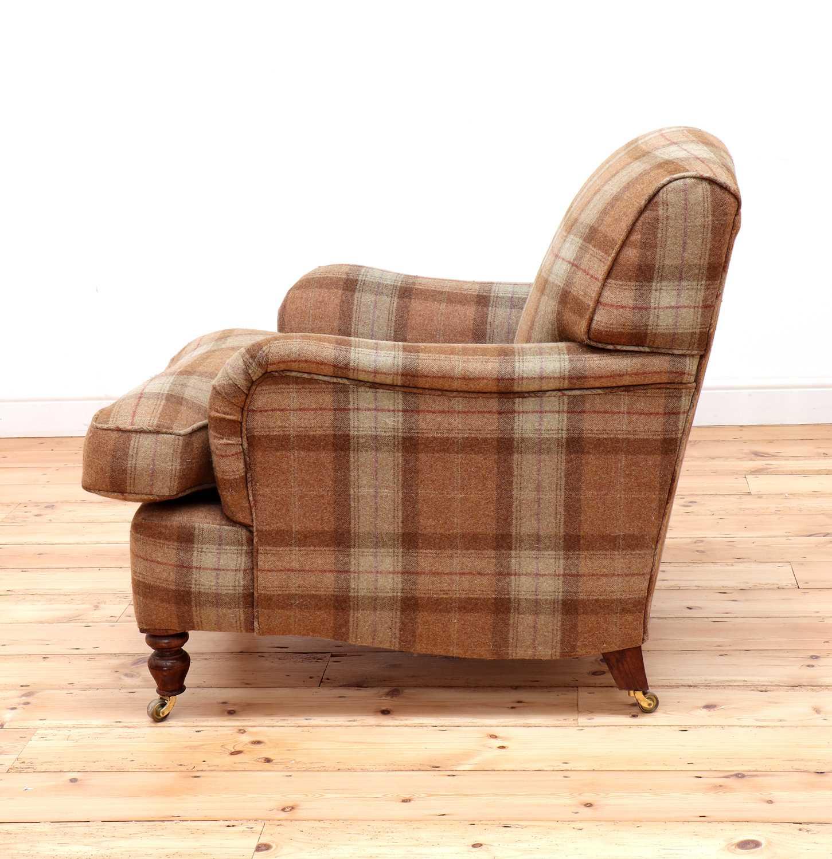 An Howard-style armchair, - Image 3 of 4
