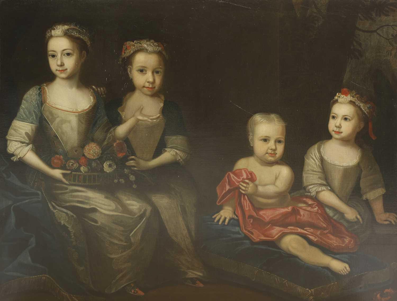 Attributed to James Maubert (Irish, 1666-1746) - Image 4 of 5