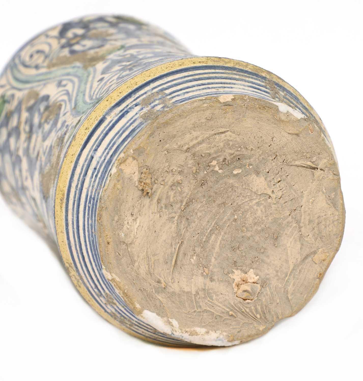 A Montelupo maiolica albarello, - Image 4 of 5