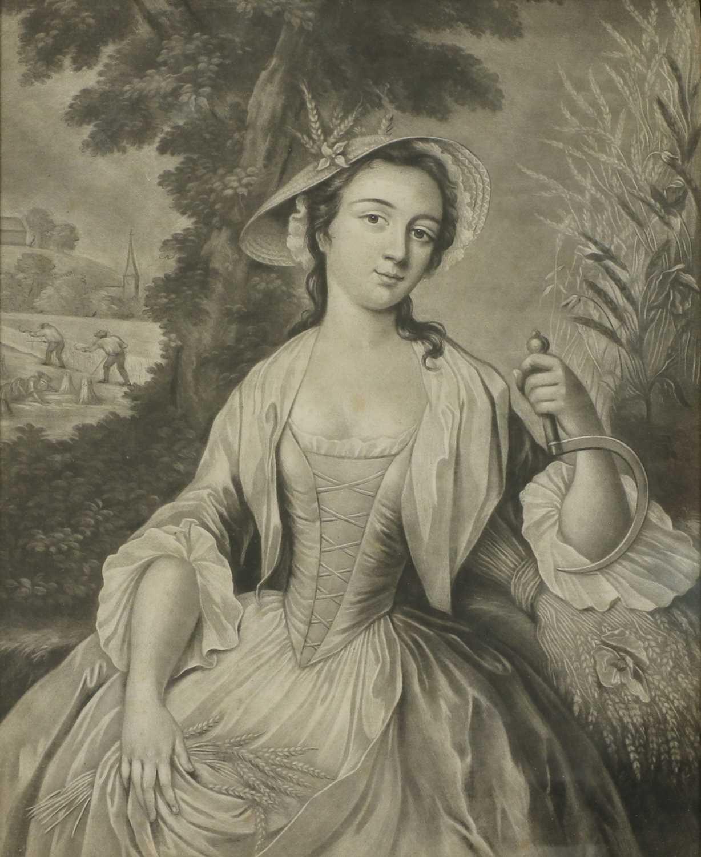 James McArdell (Irish, 1729-1765) and Robert Houston (Irish, 1721-1775), after Samuel Wale - Image 4 of 13