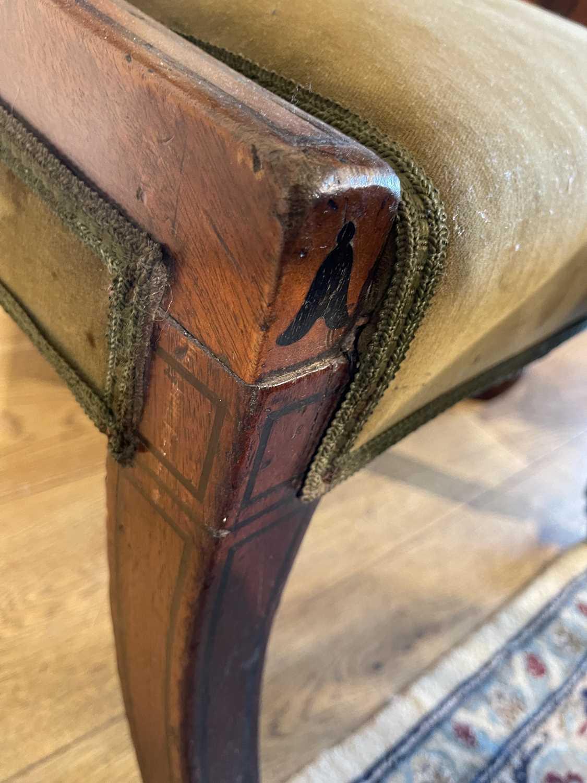 A pair of Regency mahogany klismos chairs, - Image 52 of 67