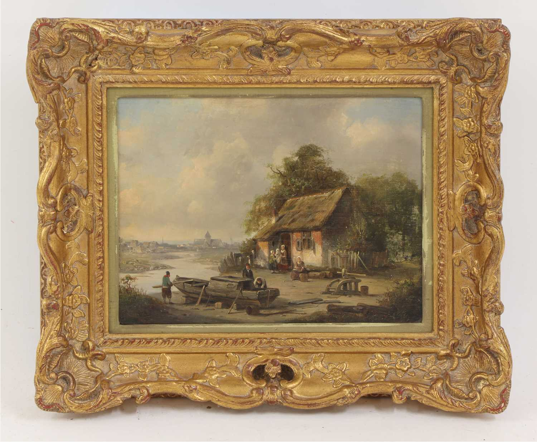 Jacques Francois Carabain (Dutch, 1834-1933) - Image 2 of 3