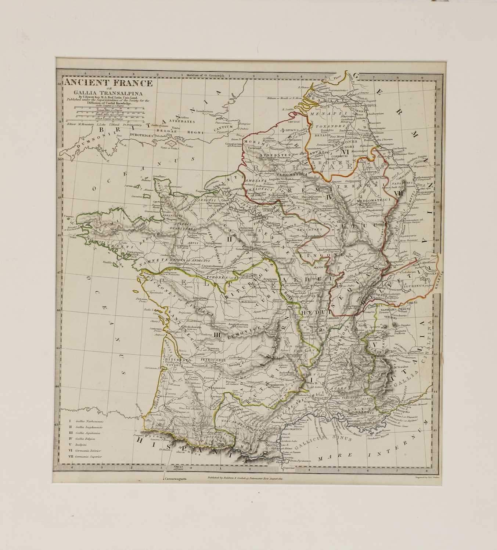 A set of four old maps of Paris, the Environs of Paris, Bordeaux and Toulon, - Image 12 of 25