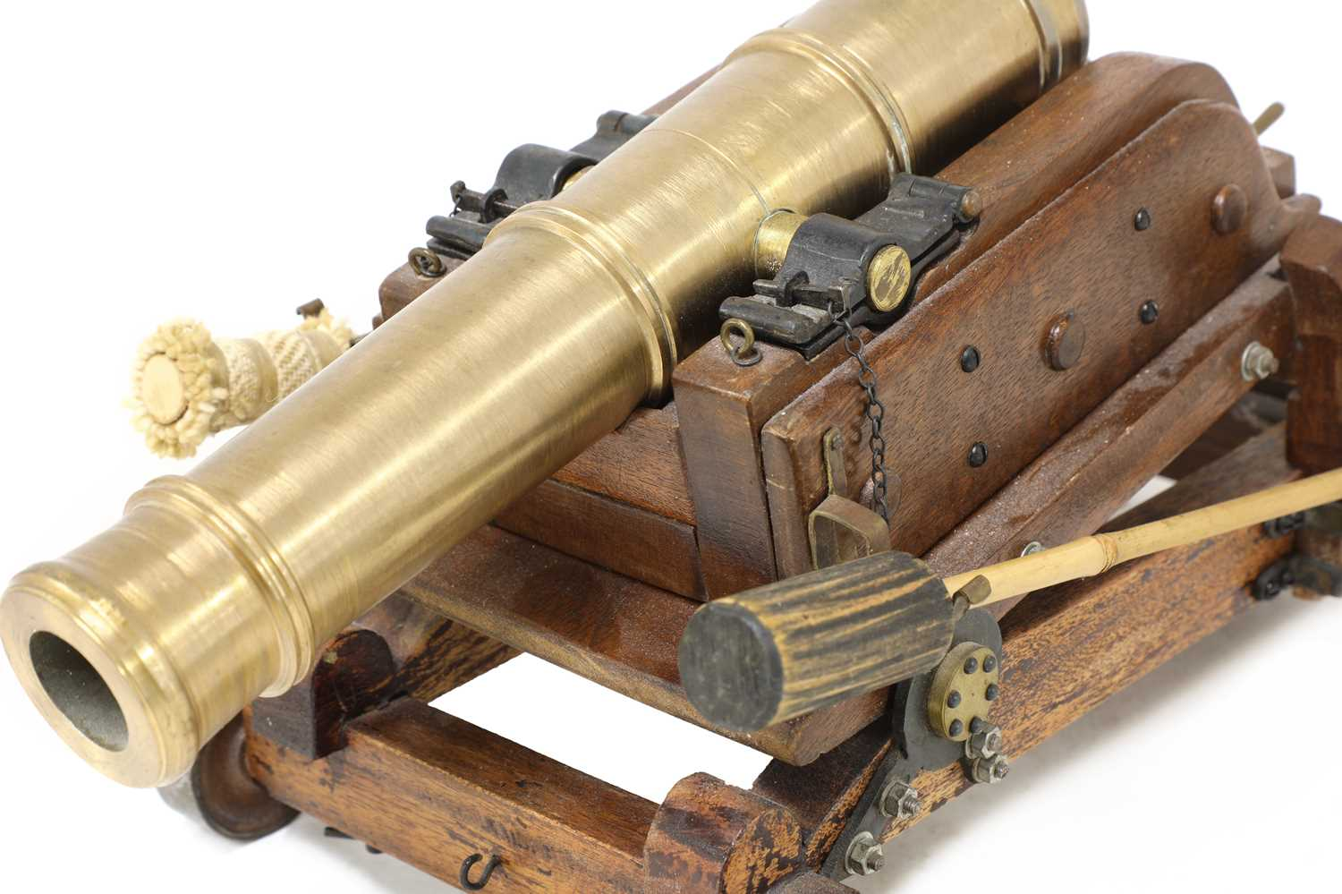 A model of a late 18th century 24lb Gibraltar cannon, - Image 3 of 6