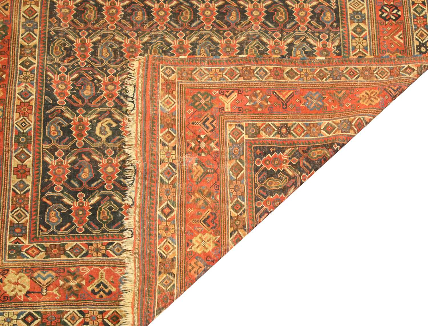 A North-West Persian wool rug, - Image 2 of 2