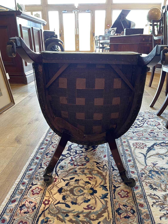 A pair of Regency mahogany klismos chairs, - Image 54 of 67