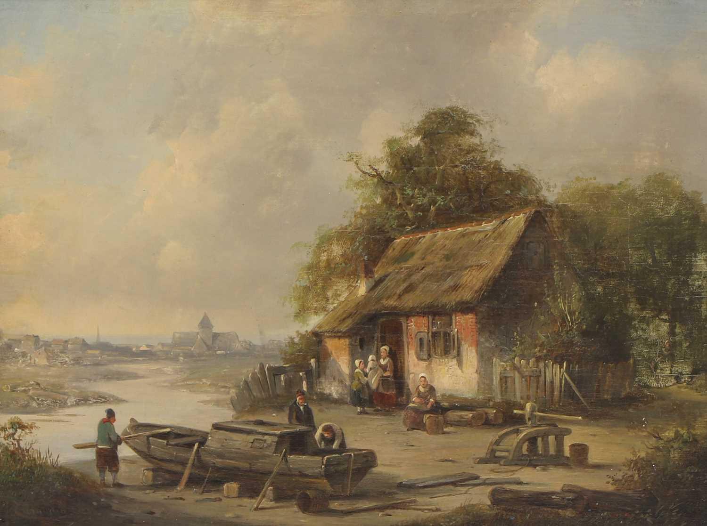 Jacques Francois Carabain (Dutch, 1834-1933)