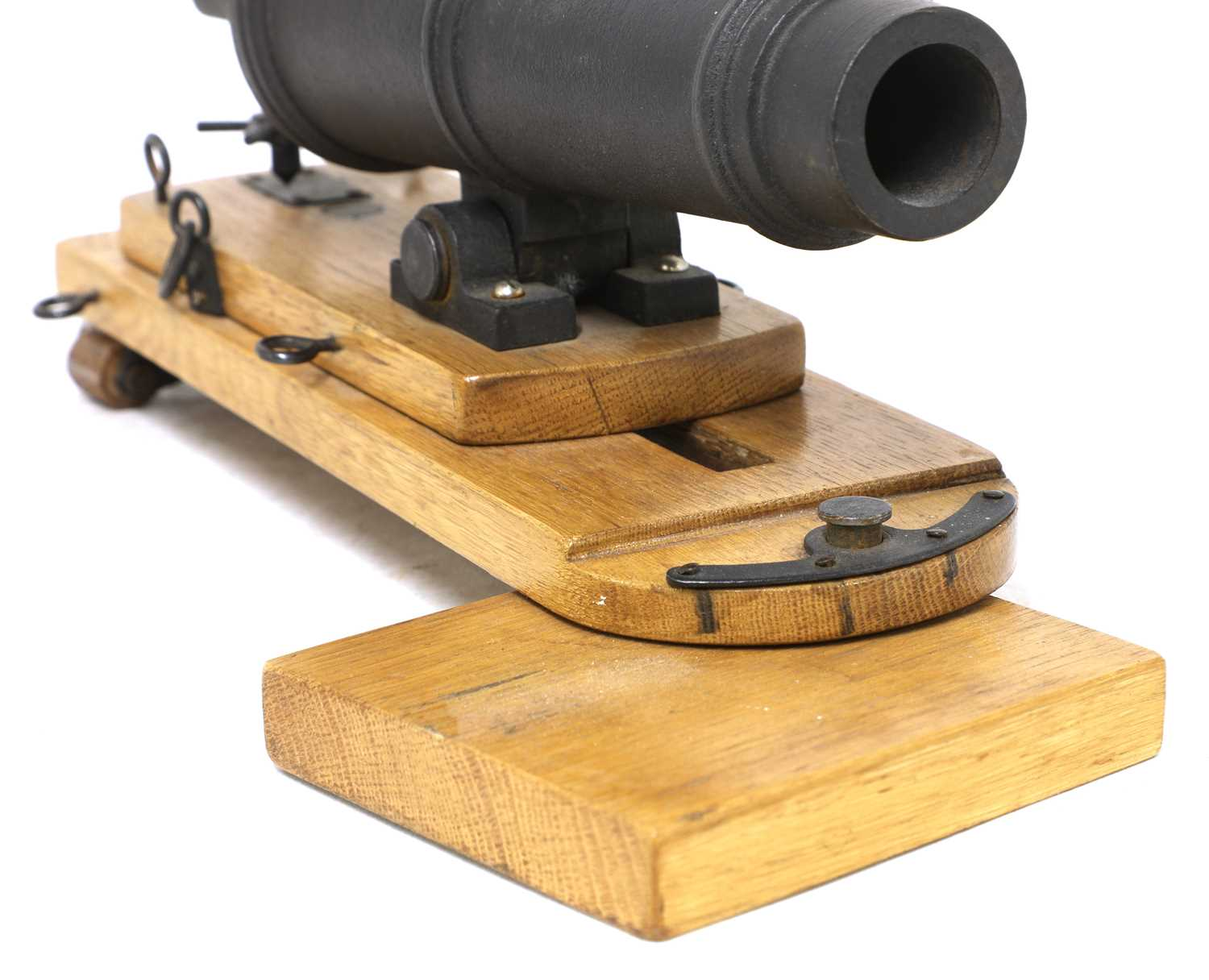 A model of a late 18th century naval carronade, - Image 5 of 5