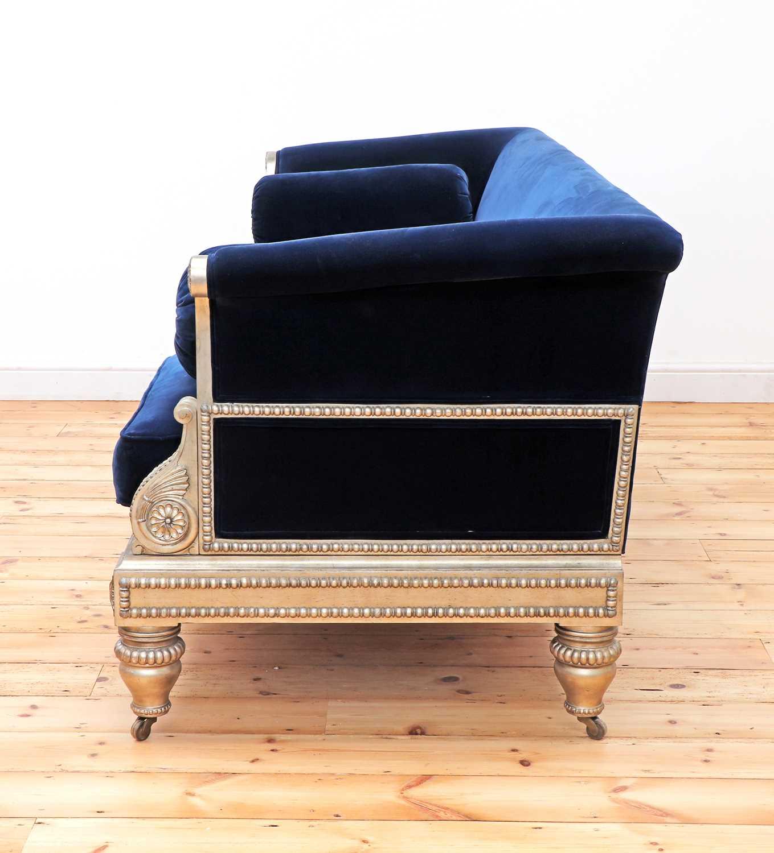 A modern Regency-style sofa, - Image 3 of 4