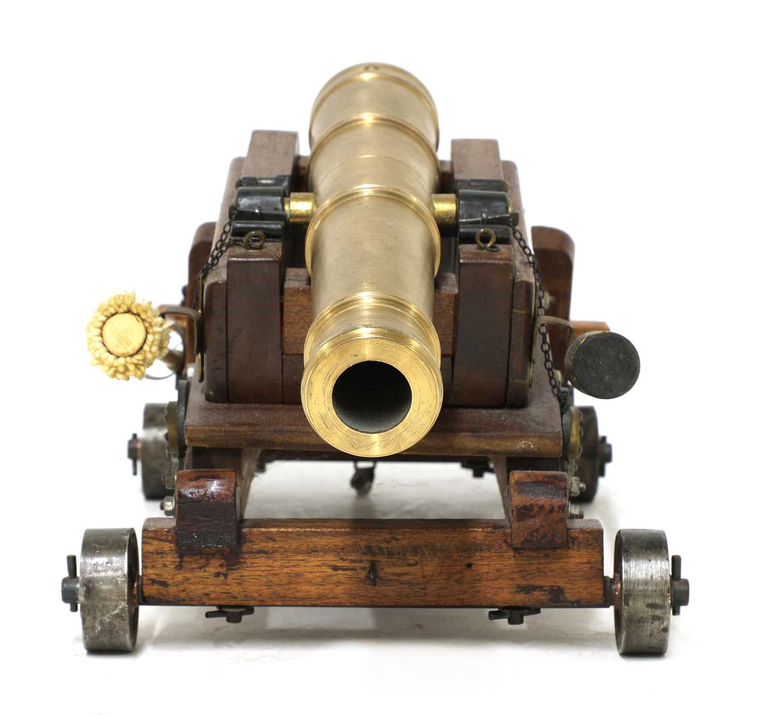 A model of a late 18th century 24lb Gibraltar cannon, - Image 2 of 6