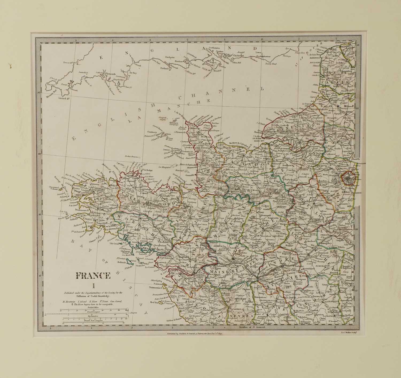 A set of four old maps of Paris, the Environs of Paris, Bordeaux and Toulon, - Image 15 of 25