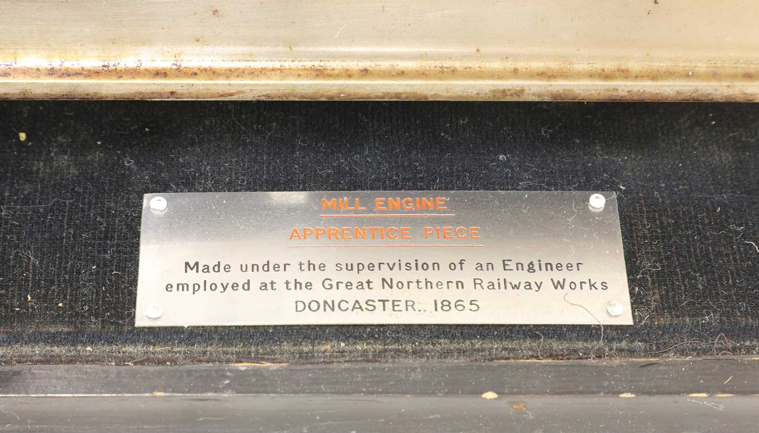 A mill engine apprentice piece, - Image 8 of 8