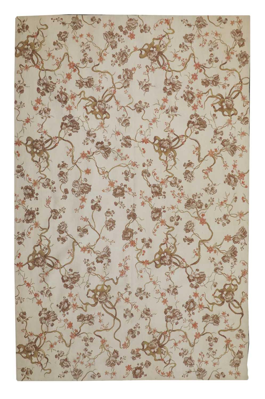 An Aubusson design rug,