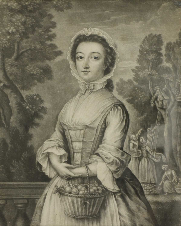 James McArdell (Irish, 1729-1765) and Robert Houston (Irish, 1721-1775), after Samuel Wale - Image 3 of 13