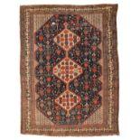 A Khamseh rug,
