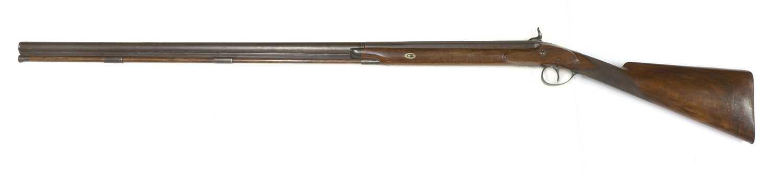 A single-barrelled percussion shotgun, - Image 7 of 7