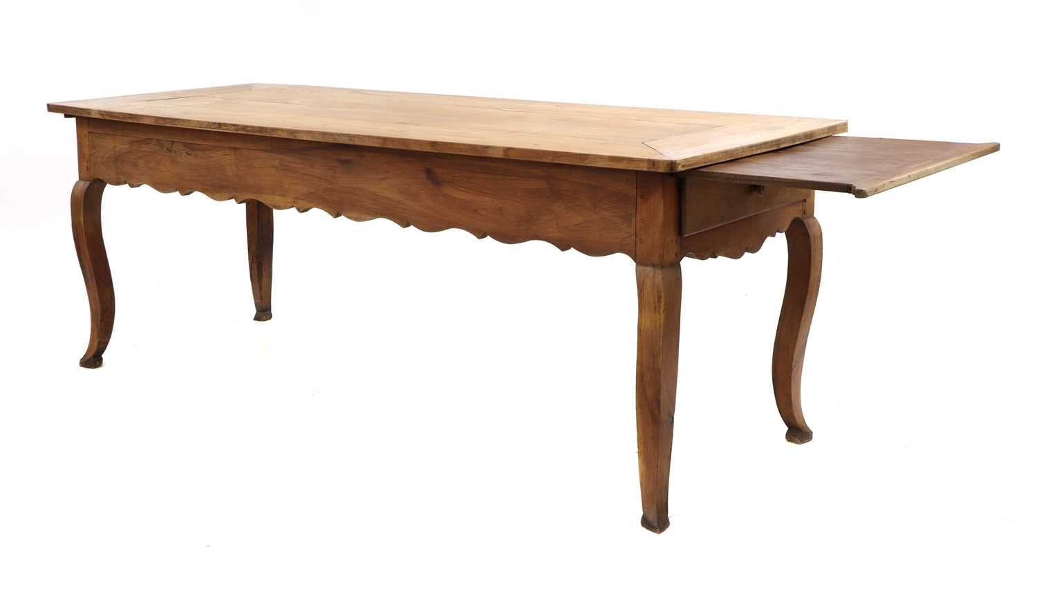 A French provincial sycamore kitchen table, - Image 4 of 10