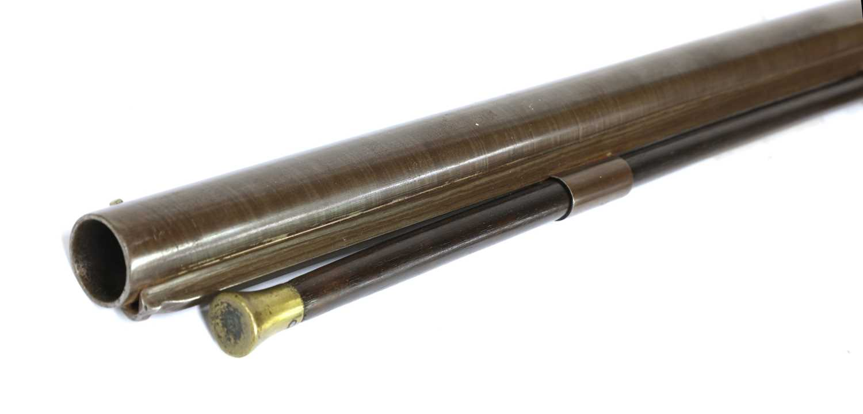 A single-barrelled percussion 12-bore shotgun, - Image 5 of 6