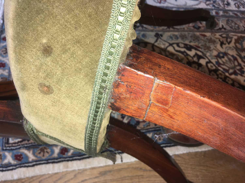 A pair of Regency mahogany klismos chairs, - Image 9 of 67