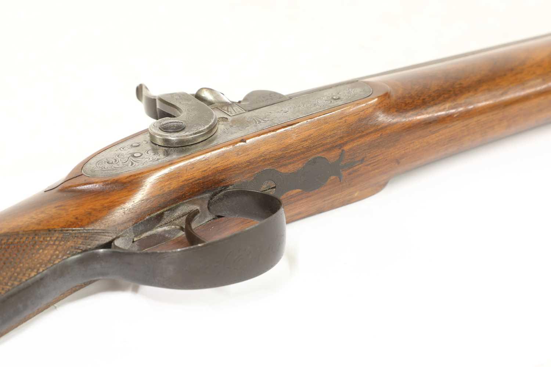A single-barrelled percussion shotgun, - Image 3 of 7