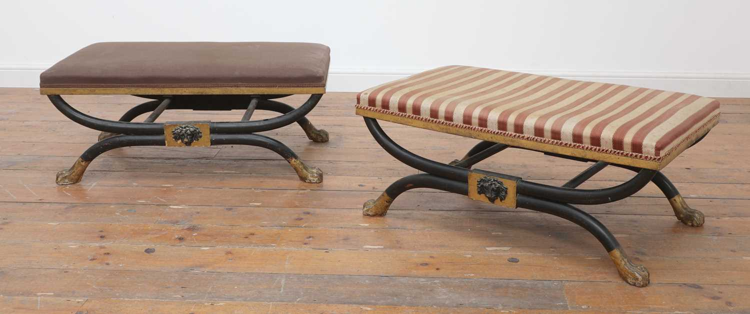A pair of stools, - Image 2 of 15
