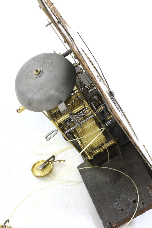 A George III mahogany longcase clock, - Image 4 of 13