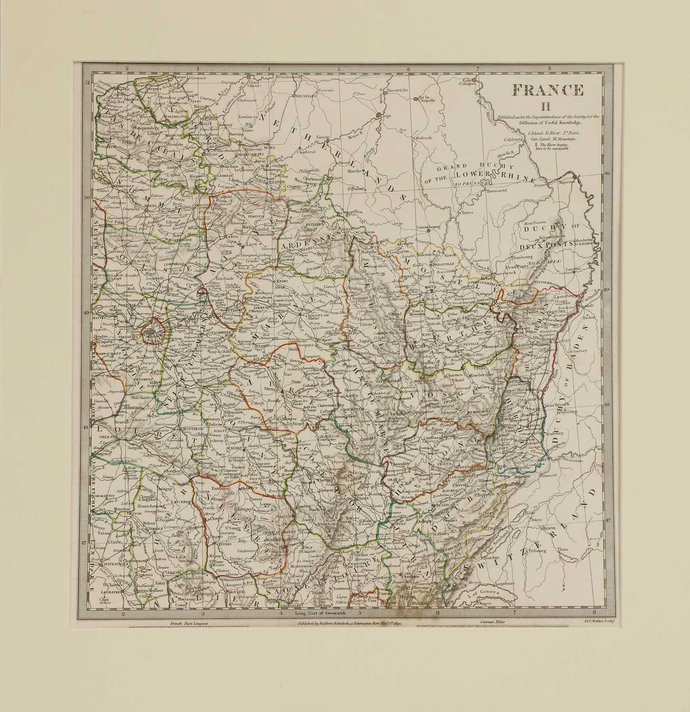 A set of four old maps of Paris, the Environs of Paris, Bordeaux and Toulon, - Image 21 of 25