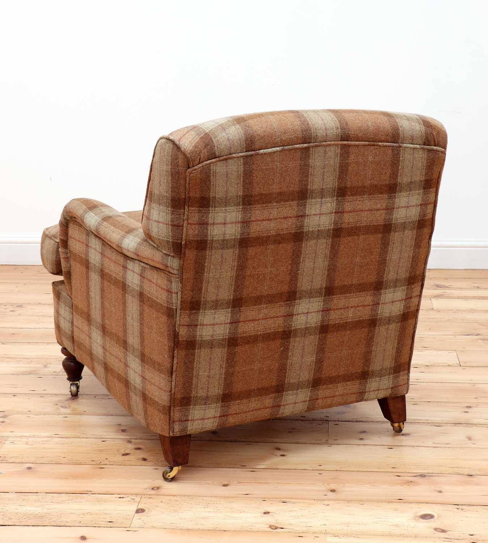 An Howard-style armchair, - Image 4 of 4