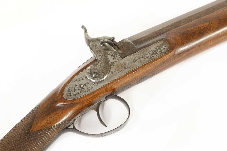 A single-barrelled percussion shotgun, - Image 2 of 7