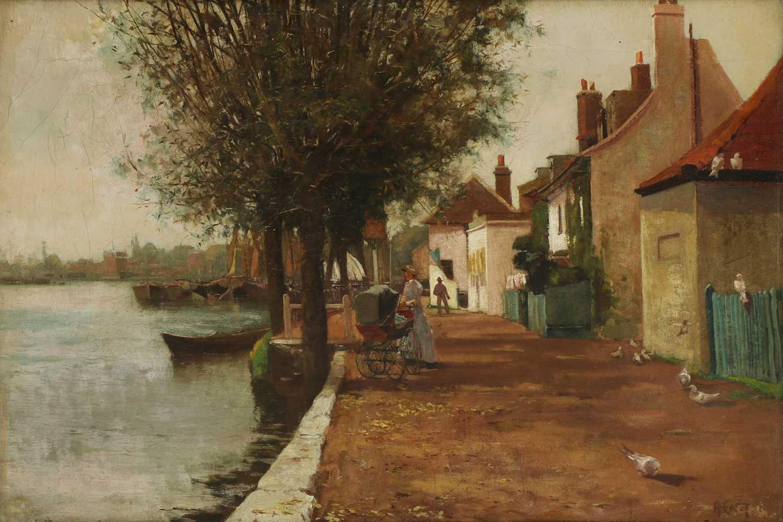Sir Alfred East RA (1849-1913)