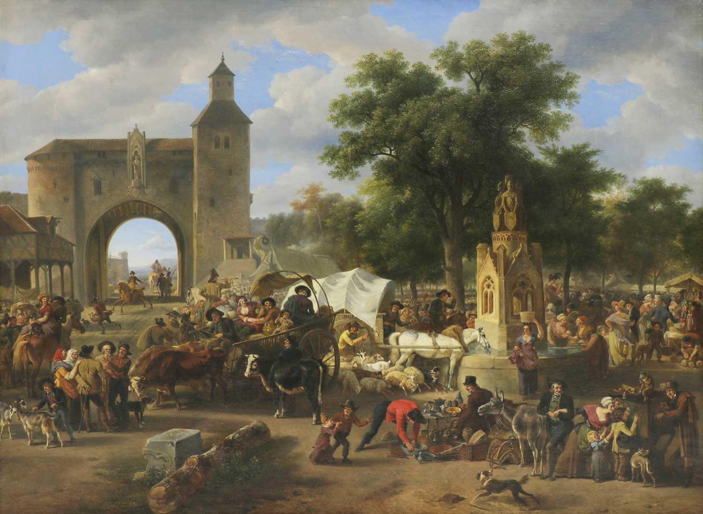 Jean-Louis Demarne (Belgian, 1752-1829) - Image 2 of 4