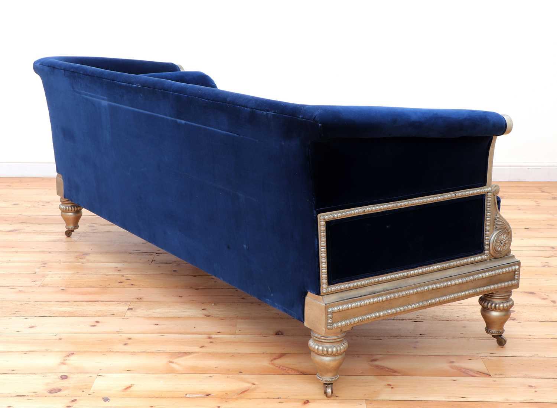 A modern Regency-style sofa, - Image 4 of 4