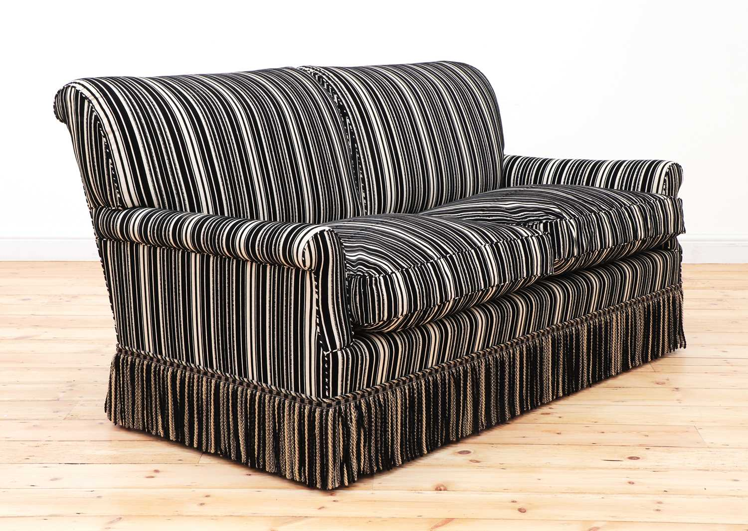 A modern two-seater sofa by Howard Chairs Ltd. - Image 2 of 12