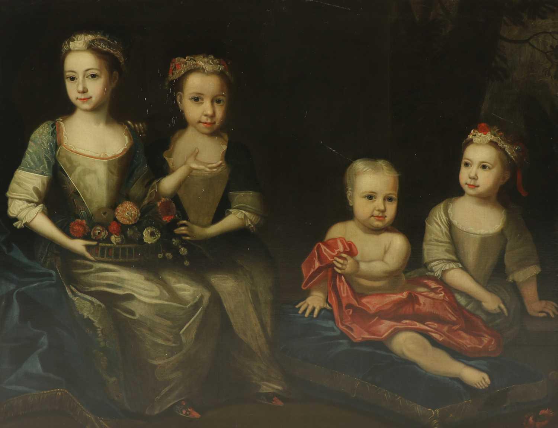 Attributed to James Maubert (Irish, 1666-1746) - Image 2 of 5
