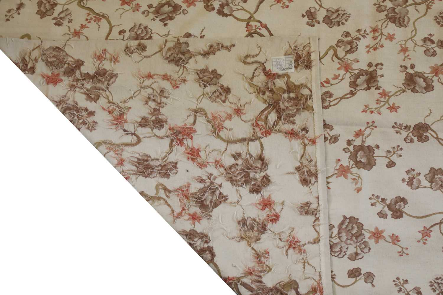 An Aubusson design rug, - Image 2 of 2