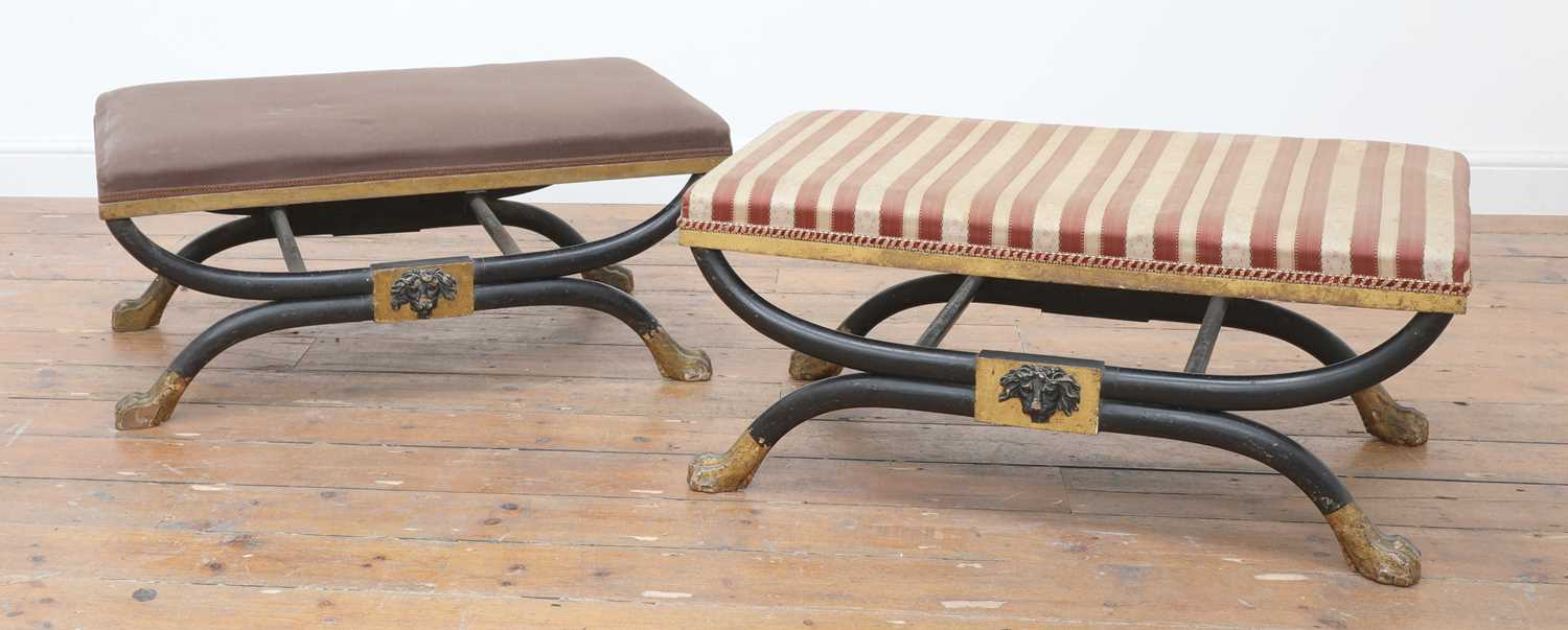 A pair of stools, - Image 3 of 15