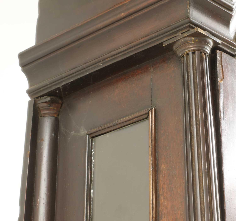 A George III mahogany longcase clock, - Image 6 of 13