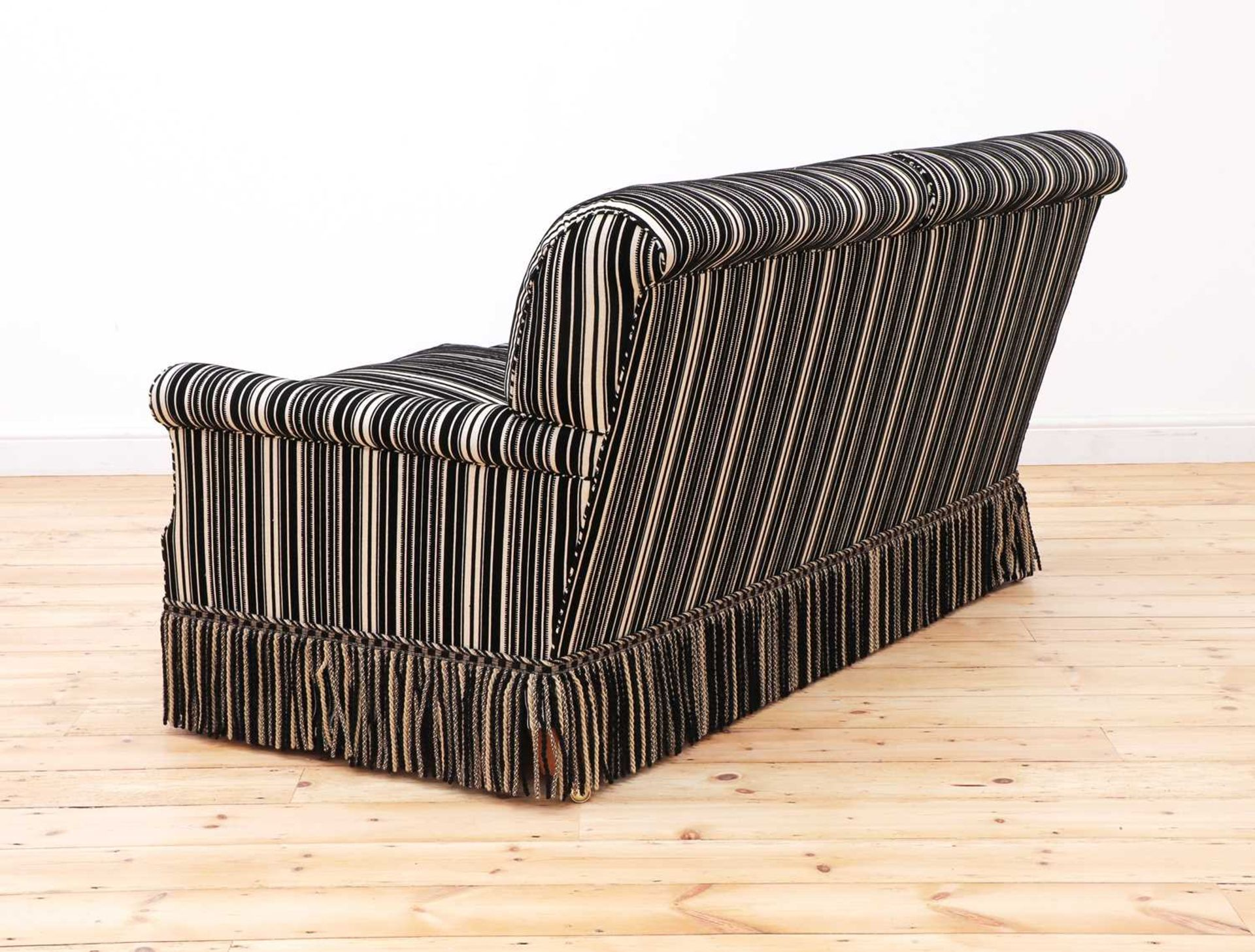 A modern two-seater sofa by Howard Chairs Ltd. - Image 3 of 12